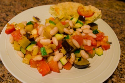 ratatouille with cannellini beans